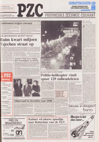 Provinciale Zeeuwse Courant 1989-11-21