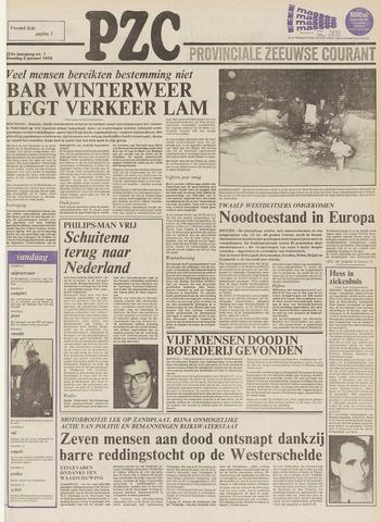 Provinciale Zeeuwse Courant 1979