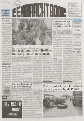 Eendrachtbode (1945-heden)/Mededeelingenblad voor het eiland Tholen (1944/45) 1999-06-17