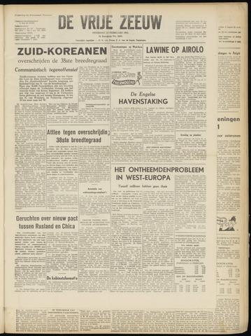 de Vrije Zeeuw 1951-02-13