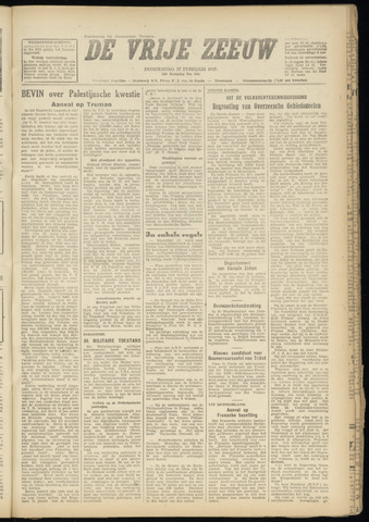 de Vrije Zeeuw 1947-02-27