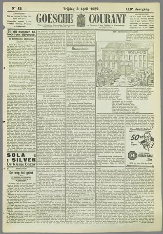 Goessche Courant 1932-04-08