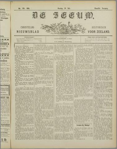 De Zeeuw. Christelijk-historisch nieuwsblad voor Zeeland 1898-07-26
