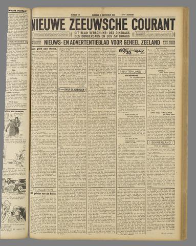 Nieuwe Zeeuwsche Courant 1931-11-03
