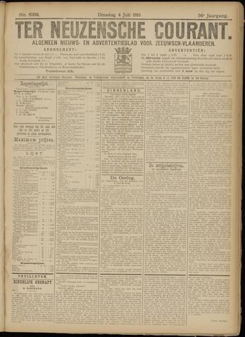 Ter Neuzensche Courant. Algemeen Nieuws- en Advertentieblad voor Zeeuwsch-Vlaanderen / Neuzensche Courant ... (idem) / (Algemeen) nieuws en advertentieblad voor Zeeuwsch-Vlaanderen 1916-07-04