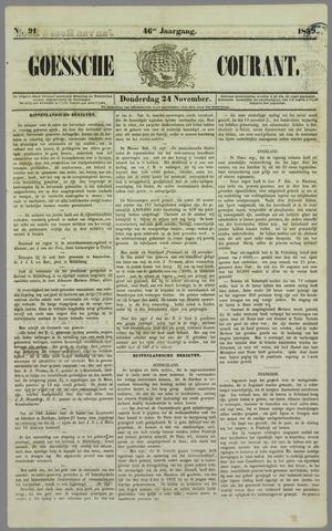 Goessche Courant 1859-11-24
