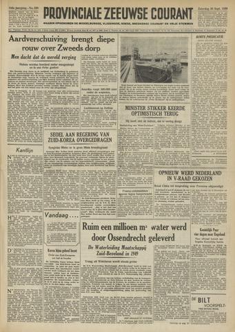 Provinciale Zeeuwse Courant 1950-09-30