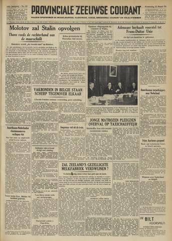 Provinciale Zeeuwse Courant 1950-03-22