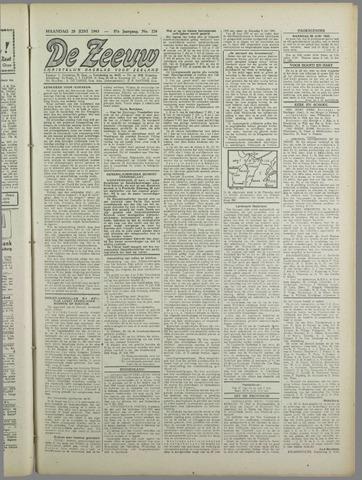 De Zeeuw. Christelijk-historisch nieuwsblad voor Zeeland 1943-06-28