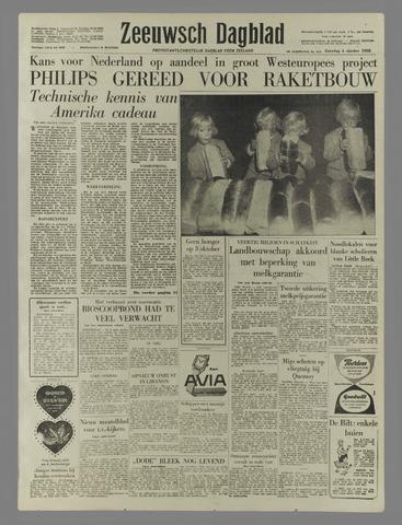 Zeeuwsch Dagblad 1958-10-04