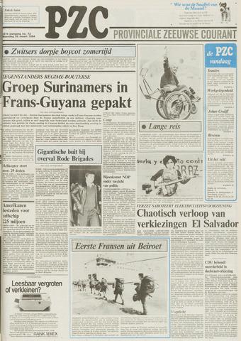 Provinciale Zeeuwse Courant 1984-03-26