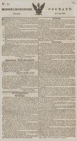 Middelburgsche Courant 1834-06-28