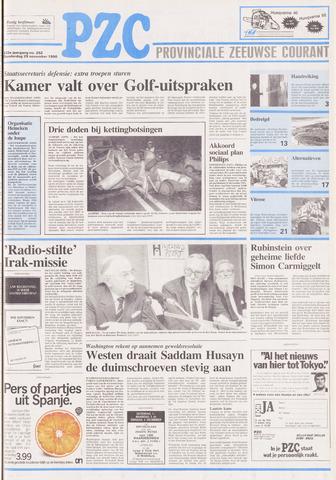 Provinciale Zeeuwse Courant 1990-11-29