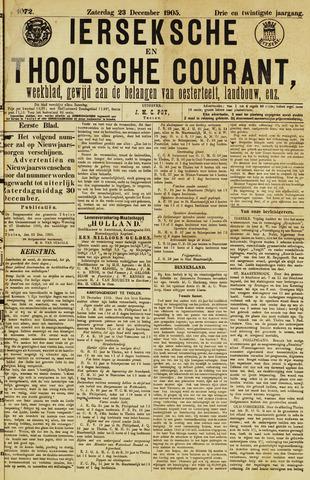 Ierseksche en Thoolsche Courant 1905-12-23