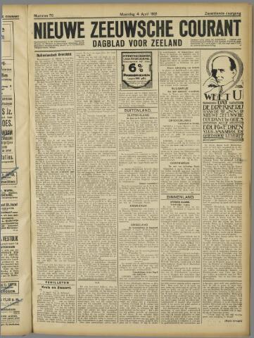 Nieuwe Zeeuwsche Courant 1921-04-04