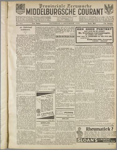 Middelburgsche Courant 1930-11-08