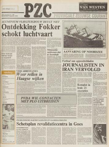 Provinciale Zeeuwse Courant 1979-08-09