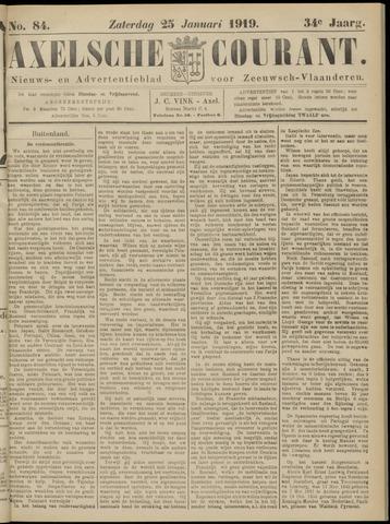 Axelsche Courant 1919-01-25