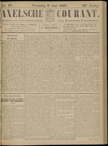 Axelsche Courant 1917-06-06