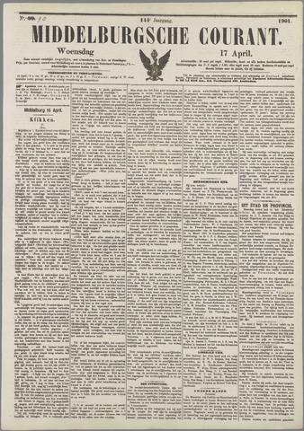 Middelburgsche Courant 1901-04-17