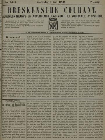 Breskensche Courant 1909-07-07