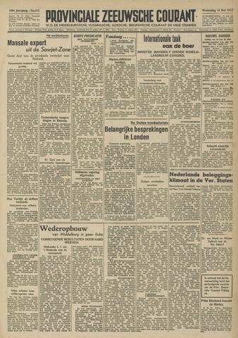 Provinciale Zeeuwse Courant 1947-05-14