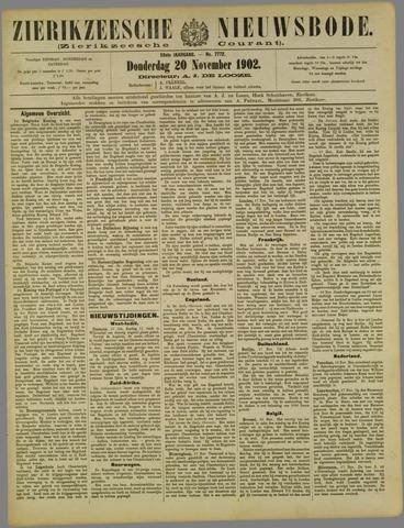 Zierikzeesche Nieuwsbode 1902-11-20