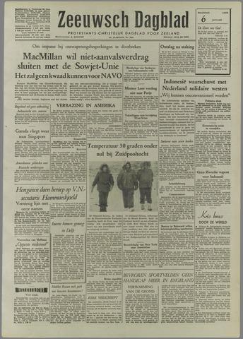 Zeeuwsch Dagblad 1958-01-06