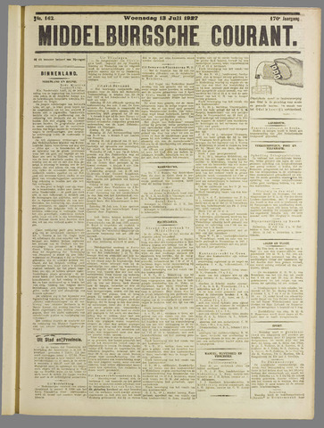 Middelburgsche Courant 1927-07-13