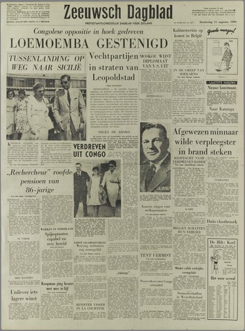 Zeeuwsch Dagblad 1960-08-11