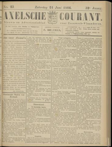 Axelsche Courant 1916-06-24