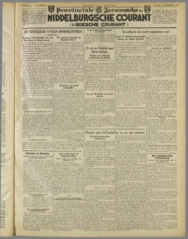 Middelburgsche Courant 1939-09-18