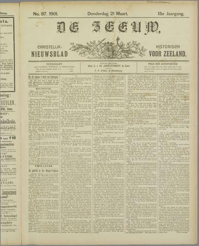De Zeeuw. Christelijk-historisch nieuwsblad voor Zeeland 1901-03-21