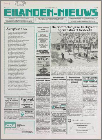 Eilanden-nieuws. Christelijk streekblad op gereformeerde grondslag 1995-12-22