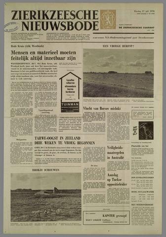 Zierikzeesche Nieuwsbode 1976-07-27