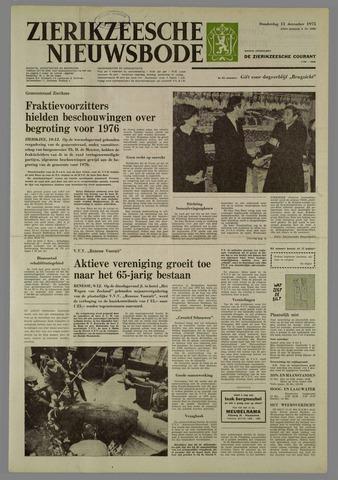 Zierikzeesche Nieuwsbode 1975-12-11