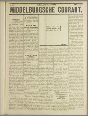 Middelburgsche Courant 1927-03-11