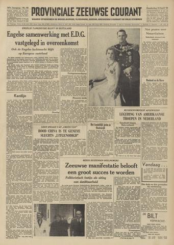 Provinciale Zeeuwse Courant 1954-04-15