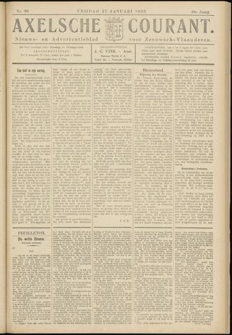 Axelsche Courant 1933-01-27