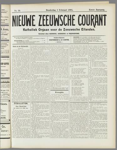 Nieuwe Zeeuwsche Courant 1905-02-02