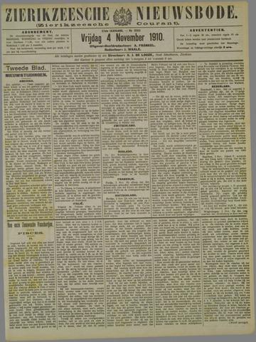 Zierikzeesche Nieuwsbode 1910-11-04