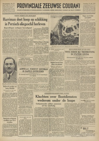 Provinciale Zeeuwse Courant 1951-07-23