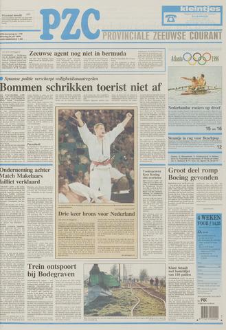 Provinciale Zeeuwse Courant 1996-07-23