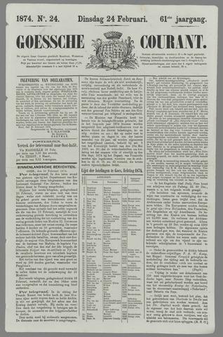 Goessche Courant 1874-02-24