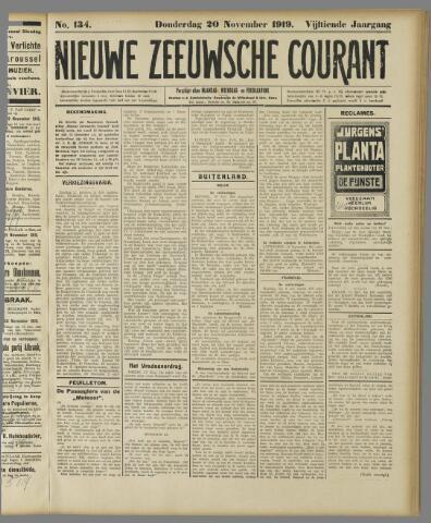 Nieuwe Zeeuwsche Courant 1919-11-20