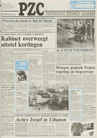 Provinciale Zeeuwse Courant 1984-02-20
