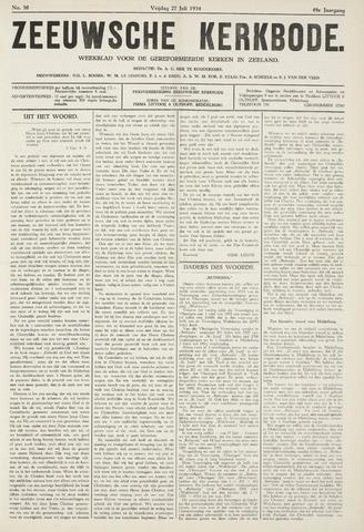 Zeeuwsche kerkbode, weekblad gewijd aan de belangen der gereformeerde kerken/ Zeeuwsch kerkblad 1934-07-27