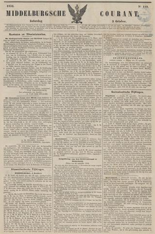 Middelburgsche Courant 1852-10-02