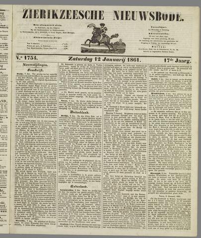 Zierikzeesche Nieuwsbode 1861-01-12