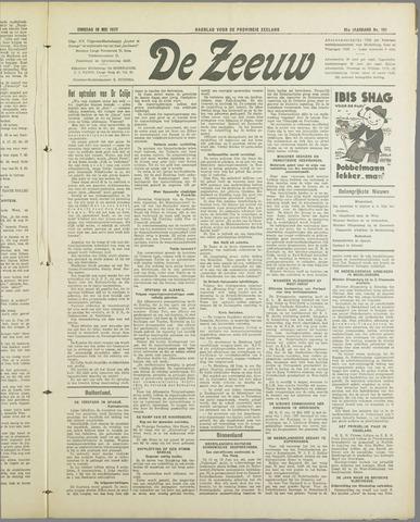 De Zeeuw. Christelijk-historisch nieuwsblad voor Zeeland 1937-05-18
